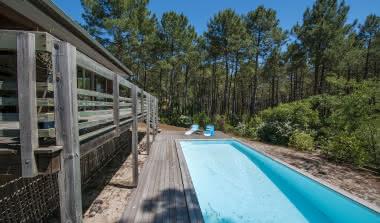 Villa pinède piscine golf PINEDE BAGANAIS3