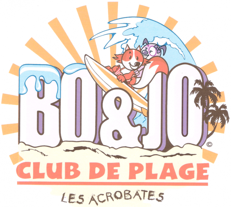 Bo and jo club de plage les acrobates (1)