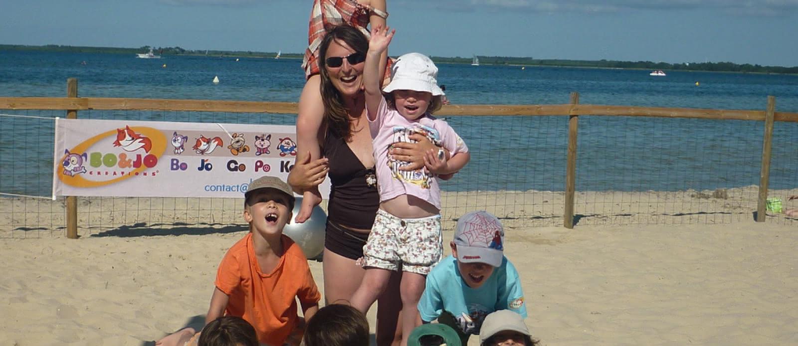Bo and jo club de plage les acrobates (2)