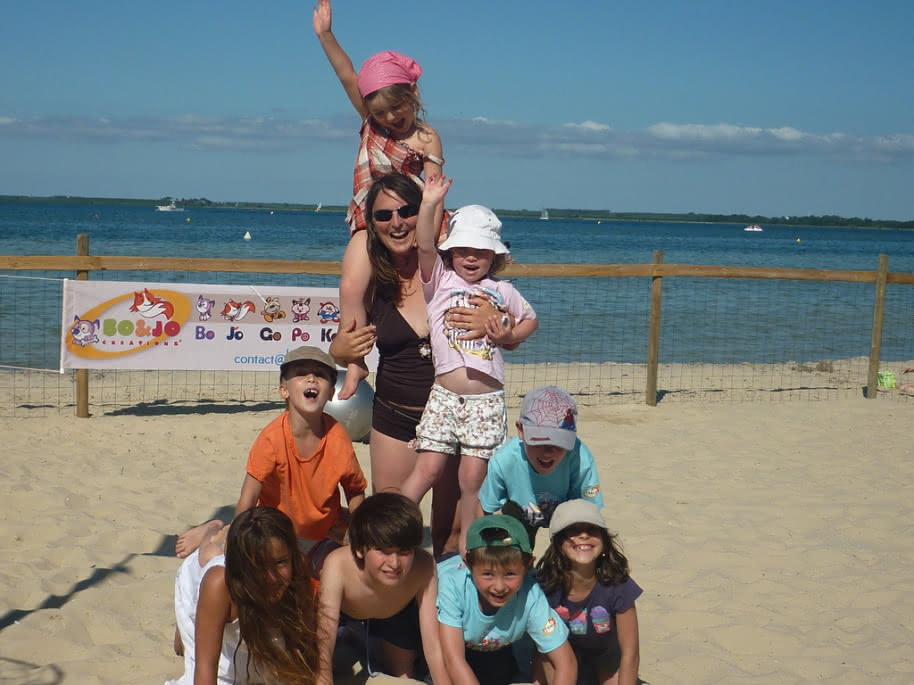 Bo and jo club de plage les acrobates (2)