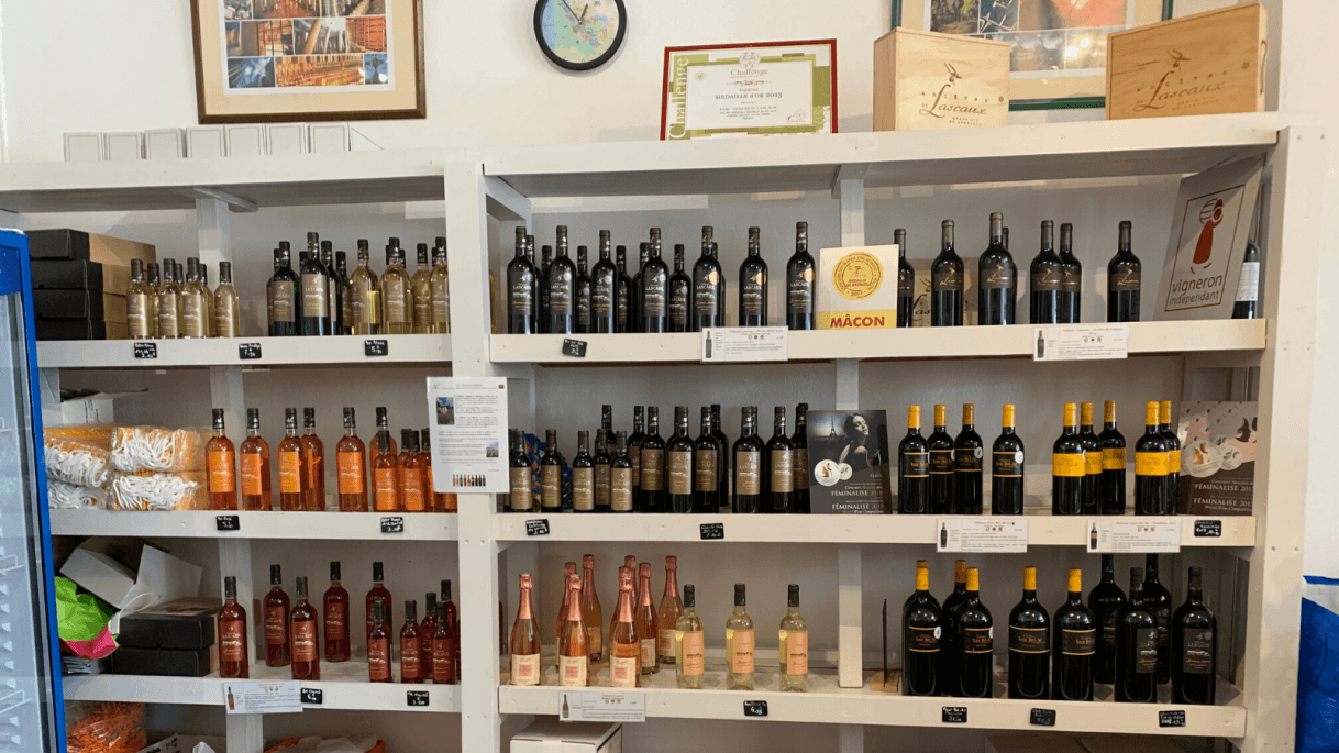 Photo vin lascaux