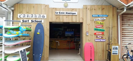 Carakas-surf-school