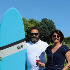 Wine and surf