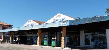 LOCATION DE VELOS CENTRAL GARAGE