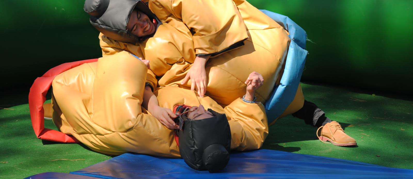 Parc de l'Aventure - Combat de sumo