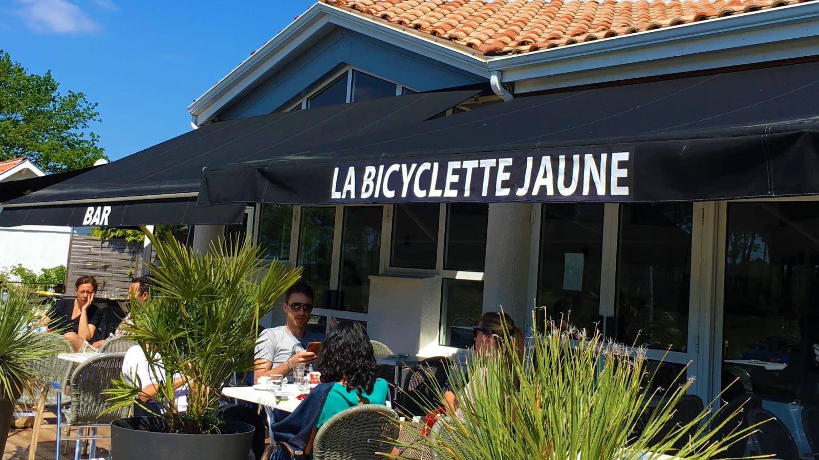 BICYCL JAUNE TERRASSE 2