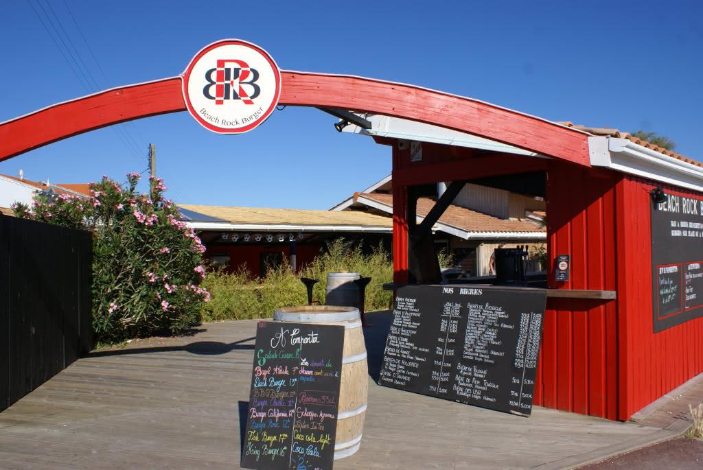 Beach Rock Burger entrée