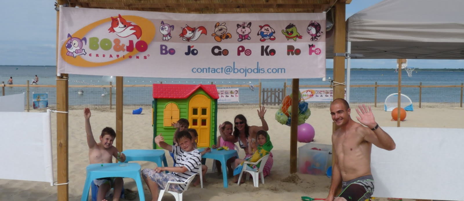 Bo and jo club de plage les acrobates (3)