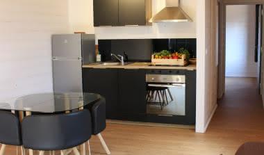Location appartement 4 personnes avec terrasse Lacanau