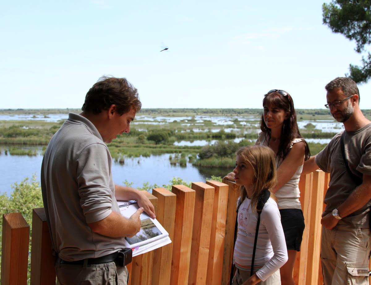 Visite guidée Réserve Naturelle Etang Cousseau
