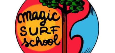 logo magic surf school