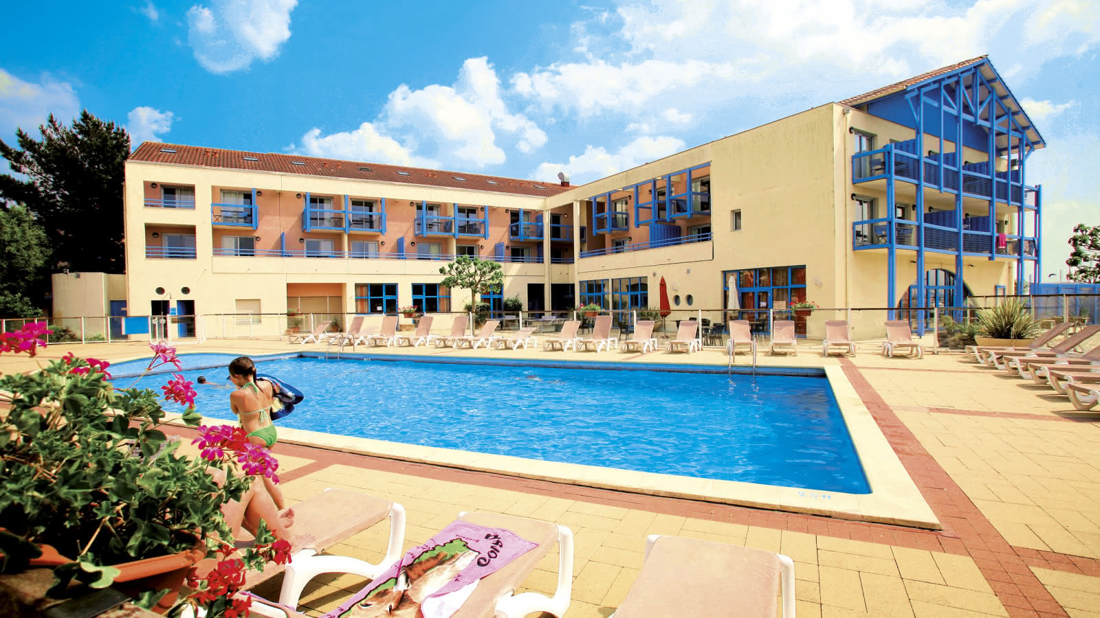 Résidence de tourisme Odalys Résidence du Port Hourtin Piscine