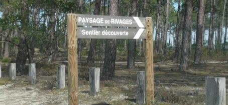 1.Panneau directionnel PAYSAGE DE RIVAGES
